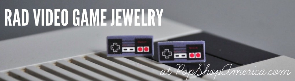 video game jewelry promo | Get video game jewelry at Pop Shop America Online Shopping Website