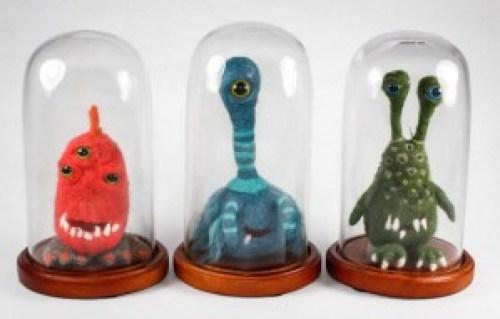 Felt Monsters | Scary Stuffed Animals Handmade on Etsy