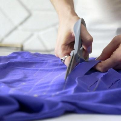 no sew t shirt alter