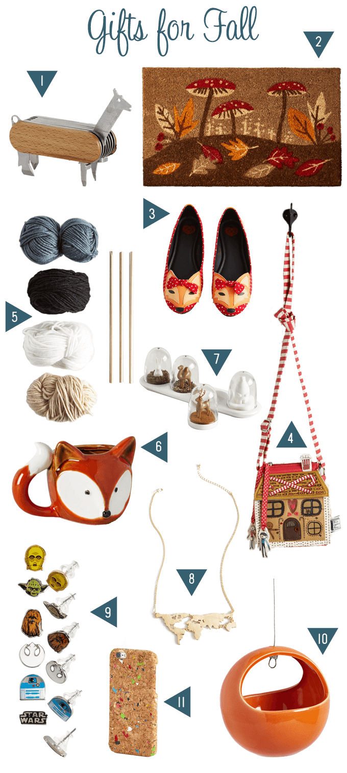 Fall Gifts from Modcloth