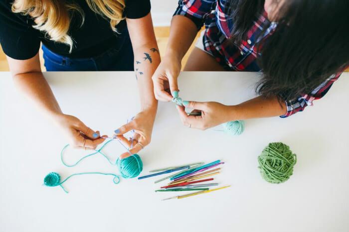 Paper + Craft Pantry crochet workshop 4