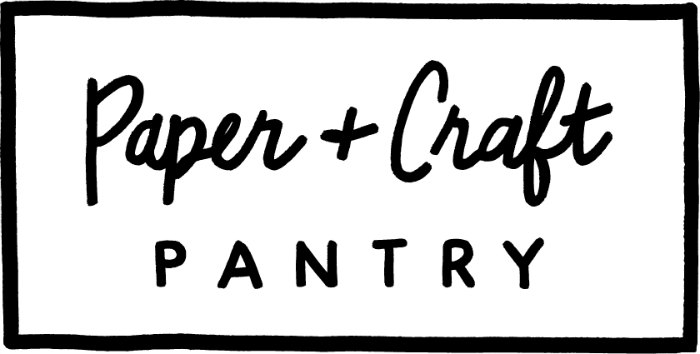 Paper + Craft Pantry sign