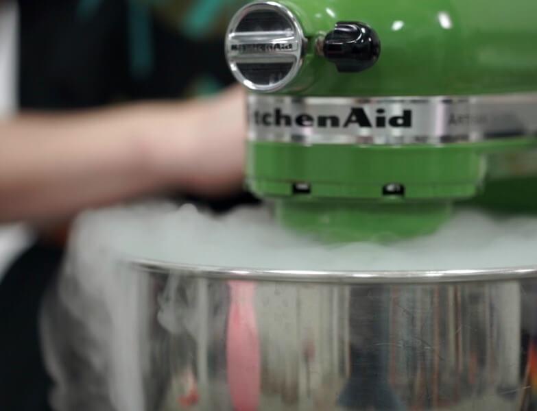 Dry Ice Ice Cream Smoke Billowing slider | How to Make Ice Cream with Dry Ice | Fast Ice Cream Recipes