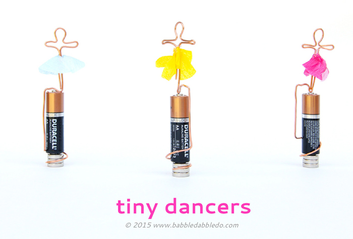 Homopolar Motor Build a Circuit DIY from the Babble Dabble Do blog