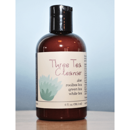 all natural face wash by salve tea cleanser handmade beauty products