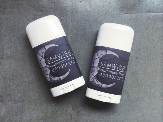 aluminum free deodorant by sam wish handmade beauty products