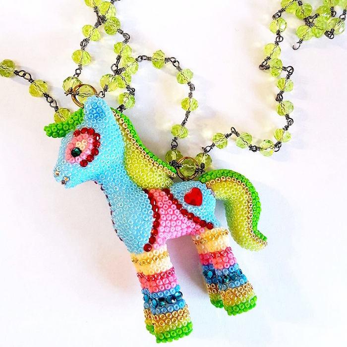 My Little Pony Intricate Kawaii Style Jewelry Handmade in Texas