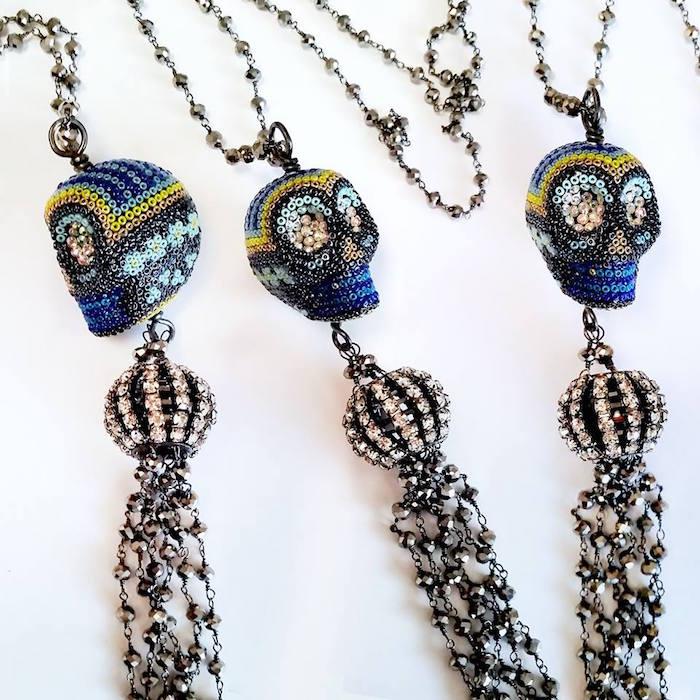 Brass Thread Handmade Jewelry from Houston