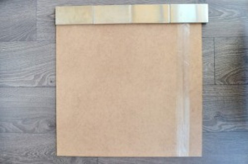 Subway Tile Photo Backdrop DIY