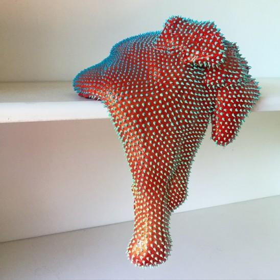 Dan Lam 'Just Try It' Sculpture