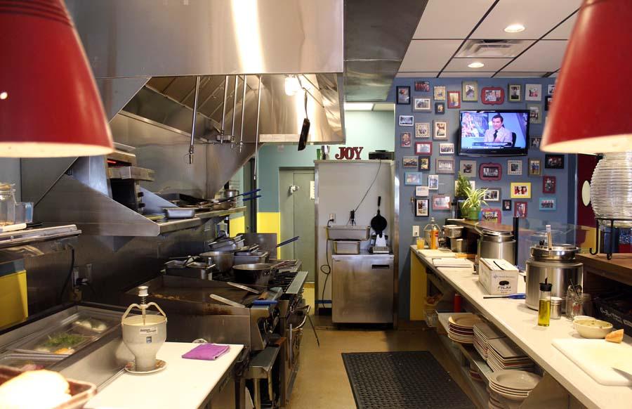 kitchen, The Joy Bus Diner, Phoenix eatery