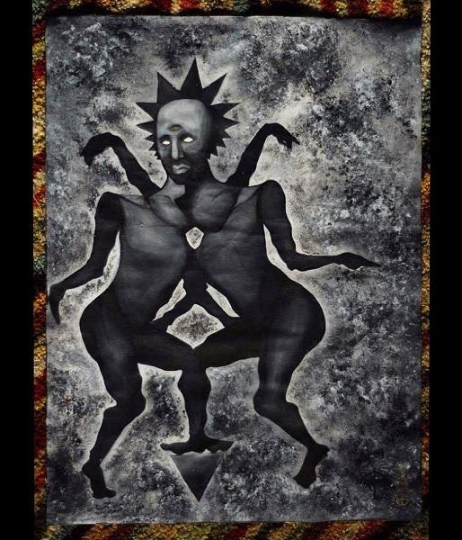 Balance of the Godheads Acrylic on canvas 2015