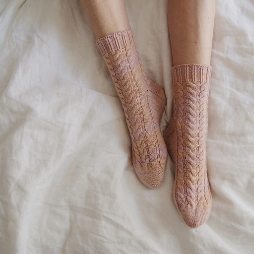 Best knitting projects: the braided Rose Hip socks