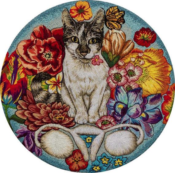 Jess_de_Wahls_Embroidery Art Meovaries