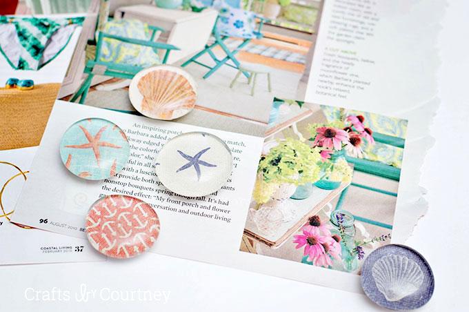 Mod-Podge-Magnets- diy magnets pop shop america crafts blog