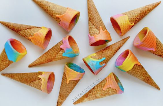 unicorn ice cream cone recipe pop shop america