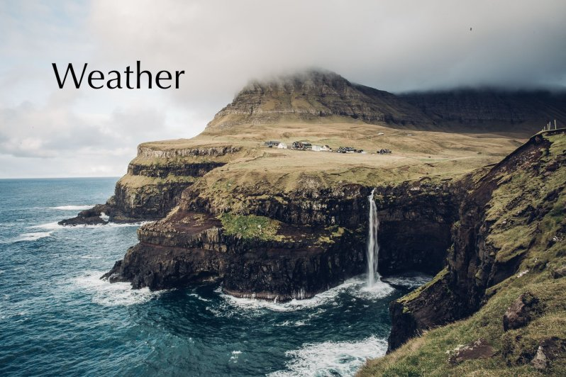 Faroe Island-weather