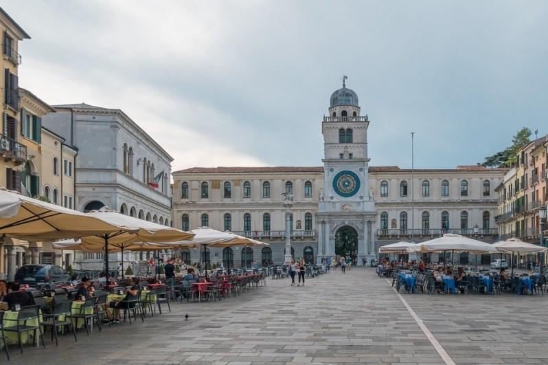 Padua_Piazza dell'Orologio
