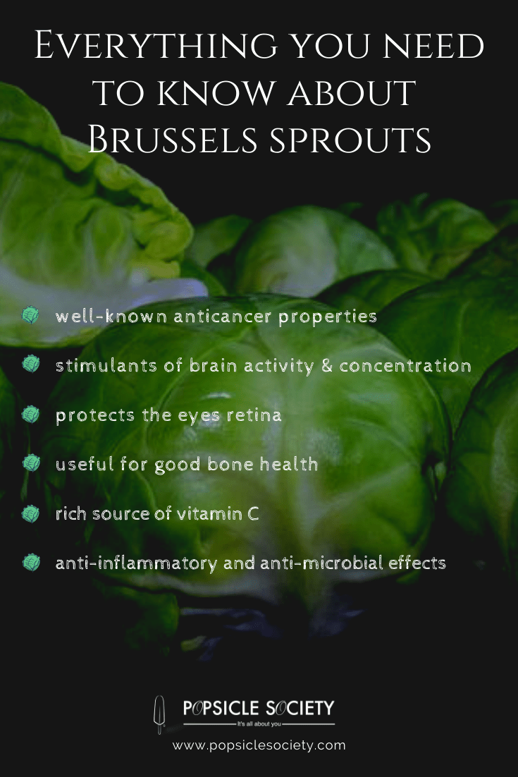 Brussels sprouts benefits_Popsicle Society