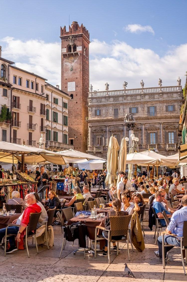 Piazza delle Erbe Verona_Popsicle Society