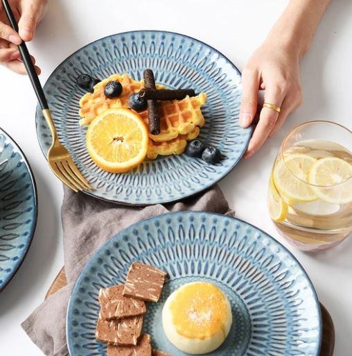 Blue gray ceramic tableware_Popsicle Society Shop