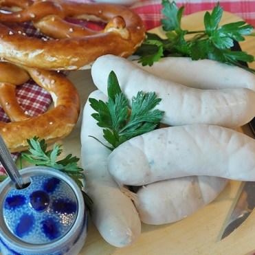 weisswurst-and pretzel