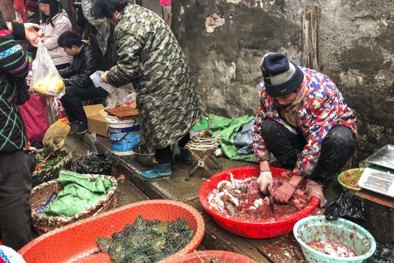 Wuchang fish market