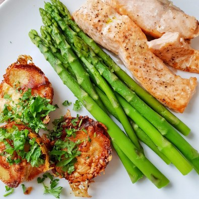 asparagus and salmon