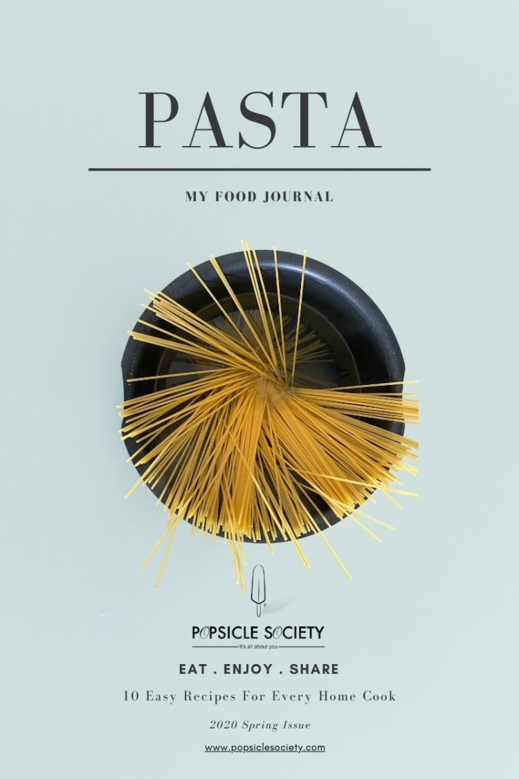 10 Easy Pasta Recipes eBook cover_Popsicle Society