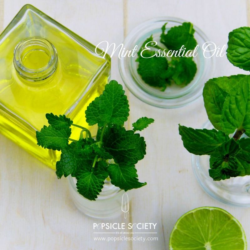 Mint essential oil_Popsicle Society