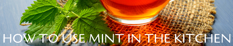 Use of the mint in the kitchen_Popsicle Society