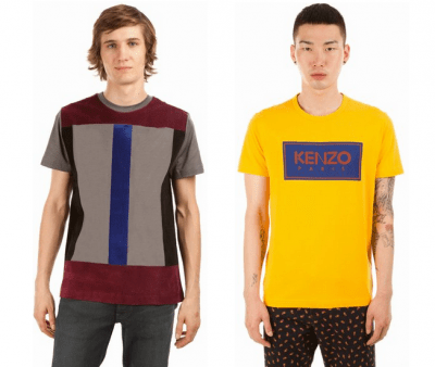 Christopher Kane and Kenzo Tees from Opening Ceremony