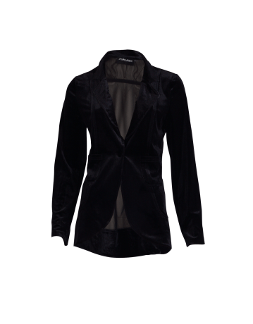 Velvetwist up your classic blazer: Twisted Sisters Greata Velvet Blazer
