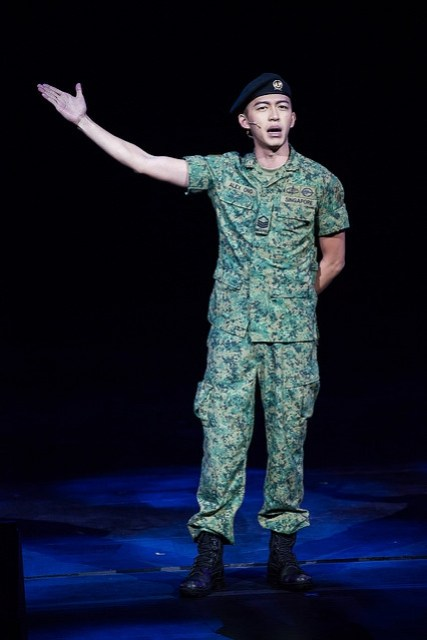 ABTMM - Tosh Zhang as Sergeant Ong Opening
