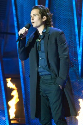 Actor Orlando Bloom at the 2014 MTV Movie Awards (Credit - Kevin Mazur)