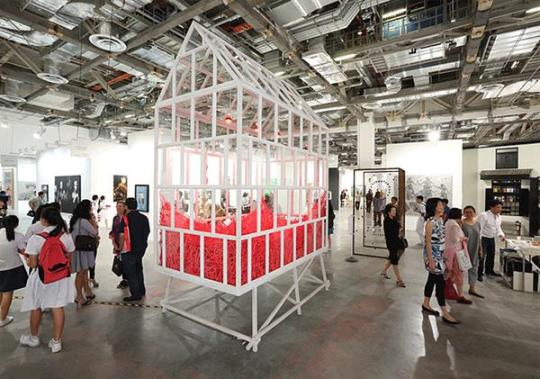 This year's fair promises to be even bigger and even better. Image courtesy of Art Stage Singapore
