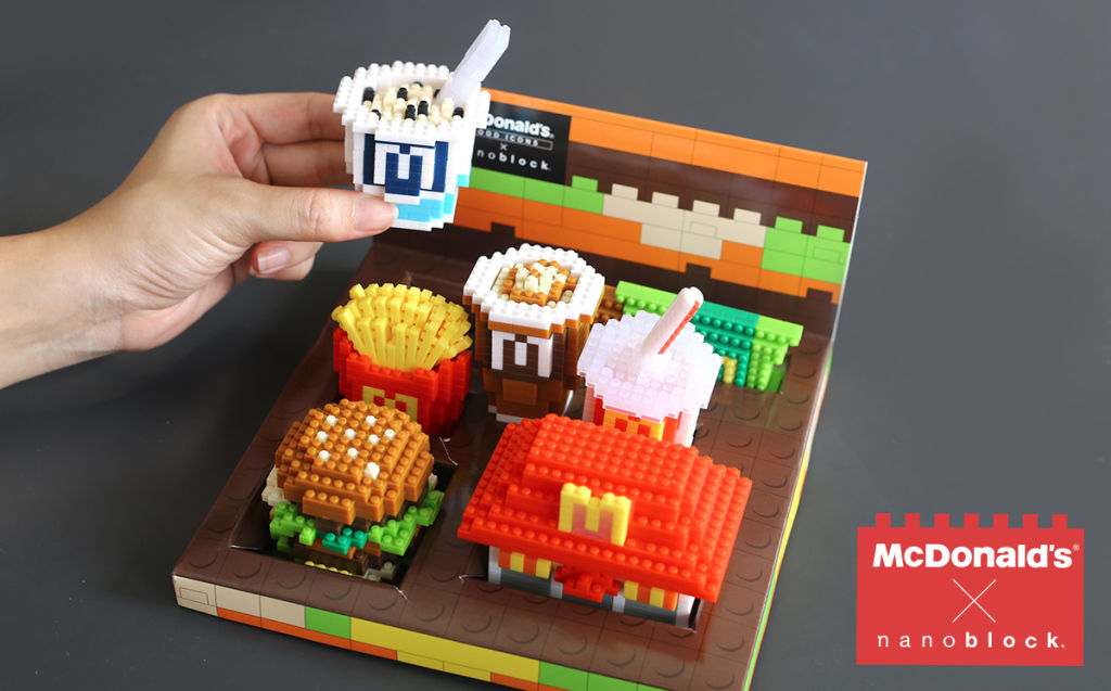 When the news first surfaced on McDonald\u0027s Facebook no doubt many thought (fondly) to the times where we queued and queued (and queued) for the Hello Kitty ... & McDonald\u0027s Singapore Creates Craze for Nanoblocks: Yeah Yes or Nah ...