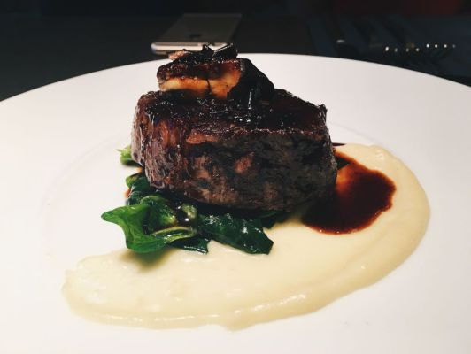 Beef Tenderloin with Foie Gras ($29)