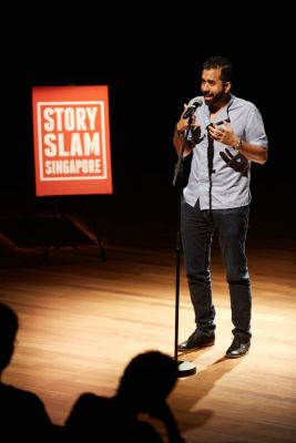 Grand Slam ver 2016 Judges' Favourite Storyteller - Kamil Haque