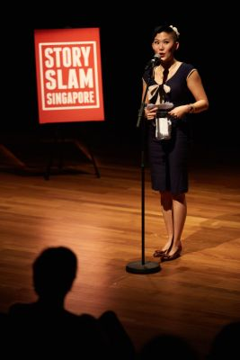 SSS Founder and Grand Slam 2016 Guest Storyteller - Elina Lim
