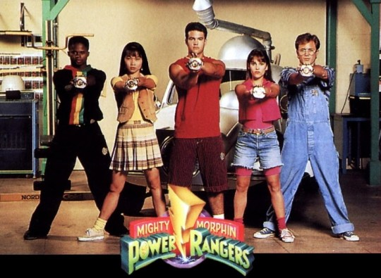 photo of the original Power Rangers from bsmoore45