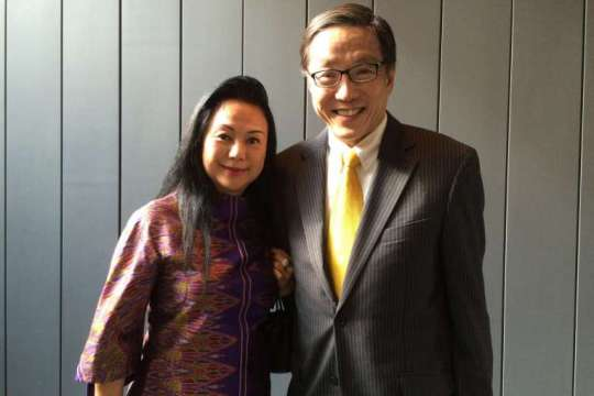 Power couple: Claire Chiang and Ho Kwon Ping
