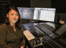 lim ting li in studio