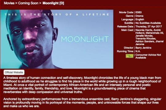 Moonlight Singapore - Popspoken