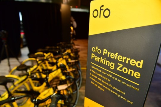 Signage for ofo Preferred Parking Zones