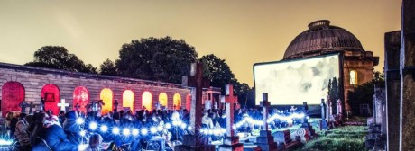 Photo: Nomad Cinema official website, screening at Brompton Cemetery