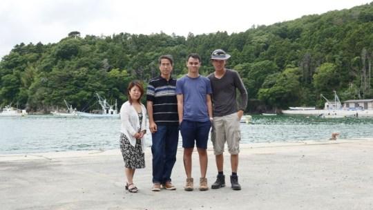 Casual Group Photo (L-R Miki Hawkinson, Yasuo Takamatsu, Wesley Leon Aroozoo, Jonathan Chan)
