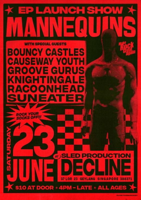 Mannequins EP Launch 23 June