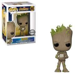 Image Avengers 3 - Teen Groot w/Video Game Pop!