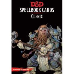 Image D&D Spellbook Cards Cleric